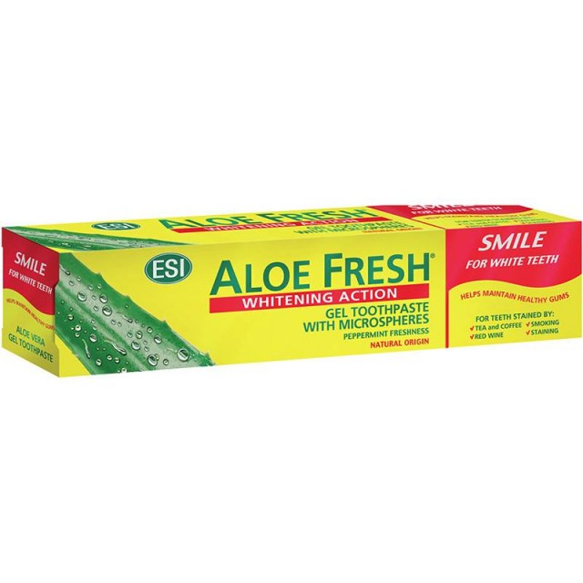 ALOEFRESH SMILE WHITENING PASTA 100ML