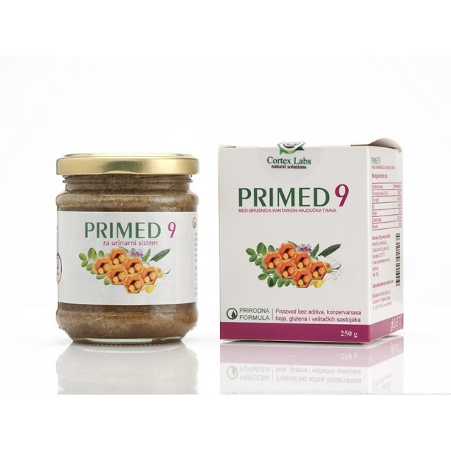 PRIMED 9 BRUSNICA 250GR - URINARNE INFEKCIJE