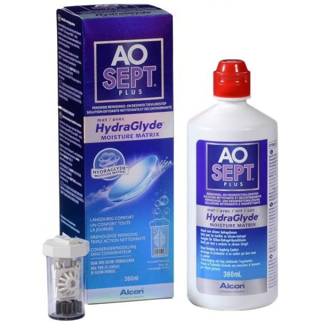 AOSEPT PLUS HYDRAGLYDE RASTVOR 360ML
