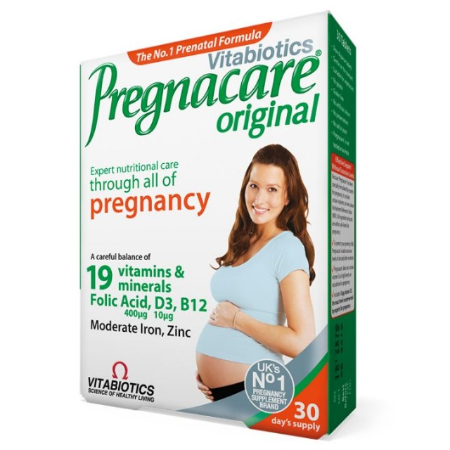 PREGNACARE ORIGINAL TABLETE A30